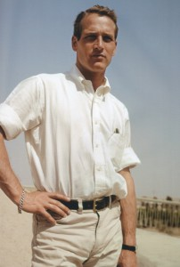 Paul-Newman-Button-Down-Shirt-Tucked-In-Photo-800x1189